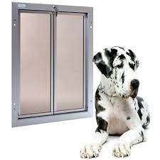 performance pet doors has designed an extra large dog door that even the largest dogs can internal back door with pet doggy installed xlarge
