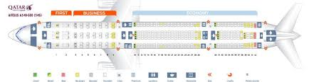 A340 300 Sas Seating Chart Qatar Airways Fleet Airbus A340 600 Details And Pictures