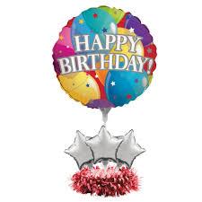 Happy Birthday Party Balloon Centerpiece Kit