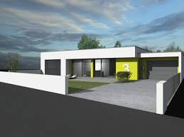 Maison Toit Terrasse Plain Pied Cc89 Jornalagora