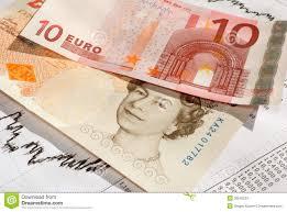 Eur Gbp Euro British Pound The Exchange Rate Stock