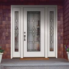 Perfect Pretty White Front Door Give You Beautiful Impression Is Everything So First And Innovation Design