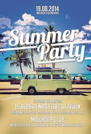 Flyer Backgrounds Psd Summer Party Flyer Templates Download Summer Party Free Flyer