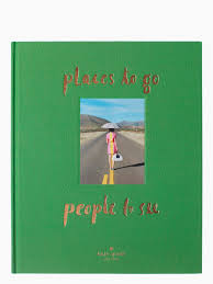 Places To Coffee Tables Places To Go People To See Coffee Table Book Kate Spade New York