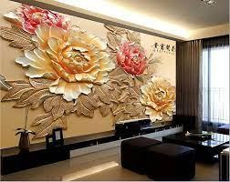 Plaster wall art, Mural wallpaper ...