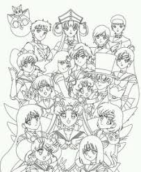 Small Picture Sailor Neptune Coloring Pages Sailor Uranus And Neptune Coloring