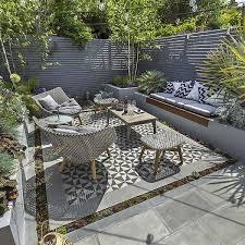 design ideas private small garden