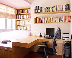 home office ideas contemporary simple layout colors small