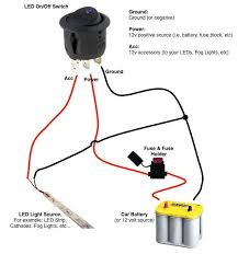 on a 12v led switch wiring diagram wiring diagrams best round rocker switch stuff cars wire led ac switch wiring diagram led rocker switch