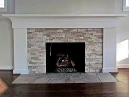 fireplace ledgestone beachwalk traditional living room