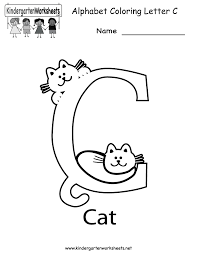 100+ worksheets that are perfect for preschool and kindergarten kids and includes activities like teach kids by having them trace the letters and then let them write them on their own. Free Letter C Worksheets Pictures Misc Free Preschool Worksheet Kd Worksheet