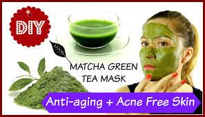 matcha mask benefits