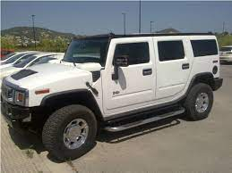 New Car Avalaible In Barcelona Hummer H2 Colour White Luxury Car Hire Luxury Car Rental New Cars