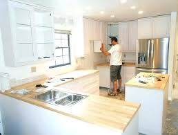cost of installing kitchen cabinets how much does it cost to install new kitchen cabinets how