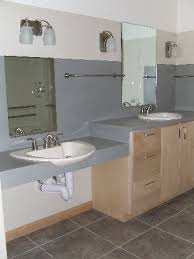 wheelchair accessible bathroom sinks. Master Bathroom The Double Sink. One Normal Height, Other Wheelchair Access. Accessible Sinks -