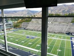 Maverik Center Utah Seating Chart View From The Suites Picture Of Maverik Stadium Logan