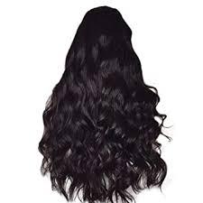 <b>Women's Fashion</b> Wig Black Synthetic Hair Long Wigs <b>Wave Curly</b> ...