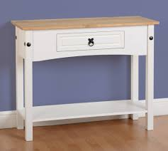 cream console table. Seconique Corona Painted 1 Drawer Console Table - Tables Fit \u0026 Furnish Yeovil, Somerset Cream E