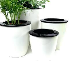 office flower pots. Office Planter Self Watering Pot Automatic Plant Flower Pots For Desktop Table Floor Garden Planters Uk