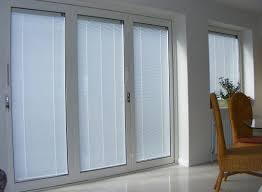 blinds between gl door inserts photos wall and