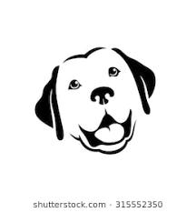 dog face clipart. Brilliant Dog Labrador Retriever Dog  Vector Illustration For Dog Face Clipart