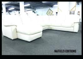 leather sectional sofas natuzzi sofa editions umbria with recliner leather sofa sectional natuzzi
