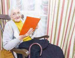 old woman reading book stock image image of lady generation 80599957
