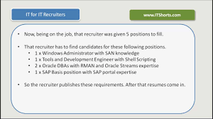 recruiter training it for it recruiters introduction video  recruiter training it for it recruiters introduction video 1