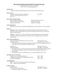 Cover Letter Standard Resume Objective Standard Objective For