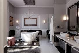 extraordinary modern bathroom lighting crystal chandelier over