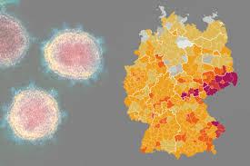Die zahl der bisher durchgeführten erstimpfungen liegt. Karte Corona Inzidenz In Deutschland Sachsische De