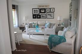 Turquoise Living Room Rustic Maple Summer Living Room Tour