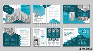 Brochure Cover Pages Brochure Creative Design Multipurpose Template With Cover Back And