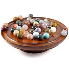Wooden Solitaire Game With Marbles Cheap Board Game Marbles find Board Game Marbles deals on line at 78