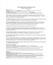Proposal Templates Free School Project Proposal Templates Free Sample Example Format