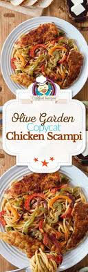 make this copycat recipe for olive garden en scampi this recipe is full of fresh