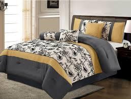 image of grey comforter twin xl