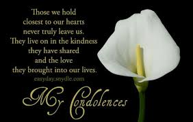 My Condolences Quotes Deepest Condolences Messages For Cards And Flowers Condolences 3