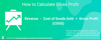 Gross Profit Formula Excel How To Calculate Gross Profit Formula Excel Capital Management