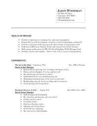 Bar Staff Job Description Catering Director Job Description Incredible Events Manager