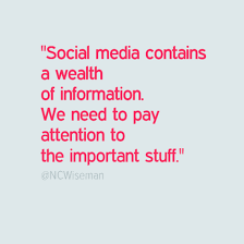 Quotes About Social Media New Quotes From Success Using Social Media Notes From NCWiseman