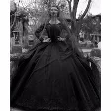 gothic white wedding dress. black gothic wedding dresses 2017 long sleeves beaded lace tulle white dress