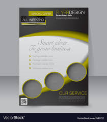 Editable Flyer Template 024 Free Editable Flyer Templates Brochure Design Template