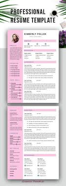 Innovative Resume Templates Magnificent Professional Resume Template Instant Download Resume Template