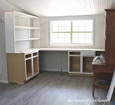 office built in. inexpensive ways to create built in shelving office i