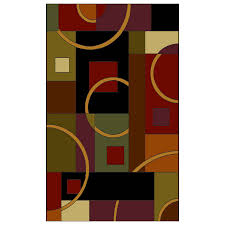 shaw living 2 2 x 3 2 multicolor pulsar accent rug