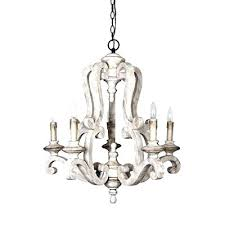 distressed white wood chandelier chandelier french shabby distressed white wood chandelier post
