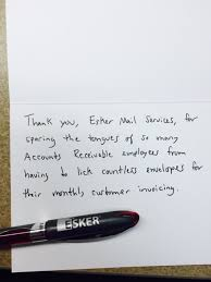 Thank You Note To Employee Eskers Jimmy Fallon Thank You Notes