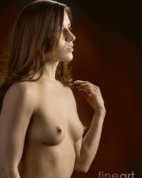 Nude woman and nipples