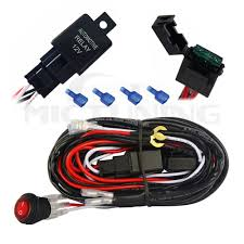 do i need a relay harness or just a switch for led pod lights ford radio wiring harness diagram at What Wiring Harness Do I Need